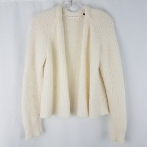 Anthropology sleeping on snow ribbed cardigan j19